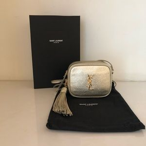 Nwt YSL Monogram Crossbody Bag